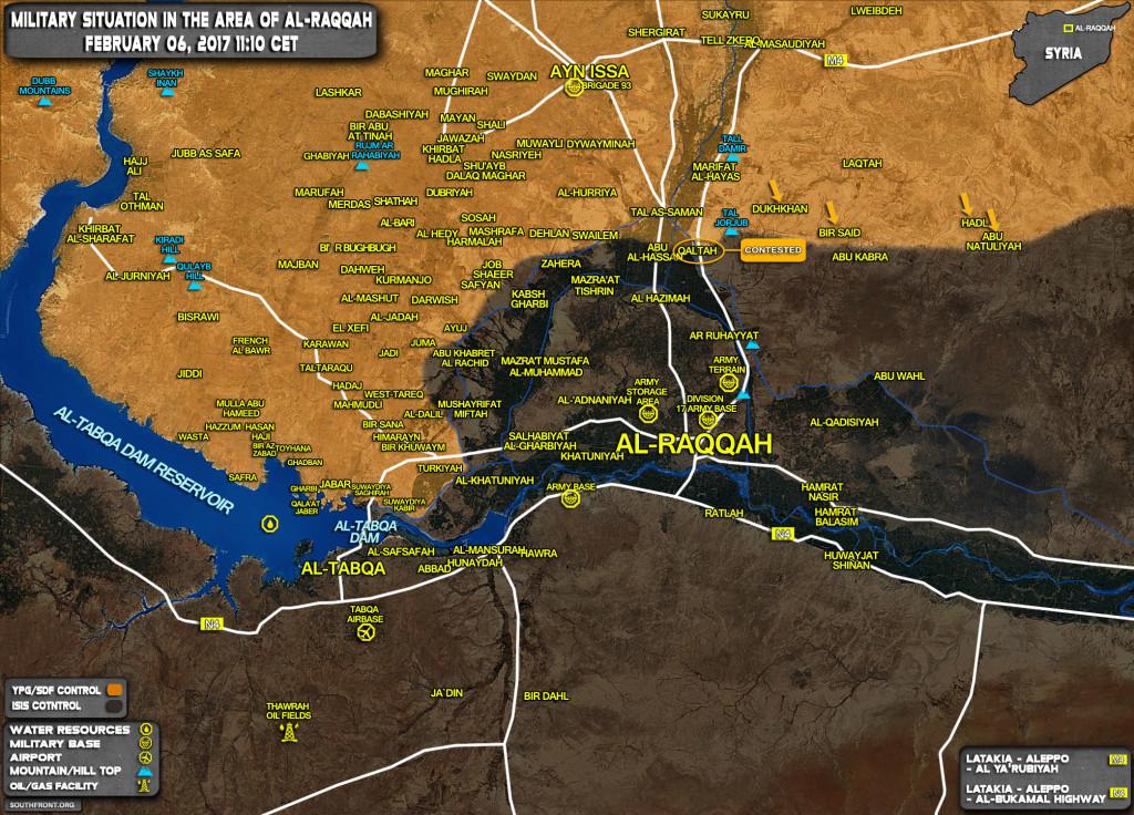 US-Backed Forces Launch Fresh Advance Near Al-Raqqah, Seize Two Villages