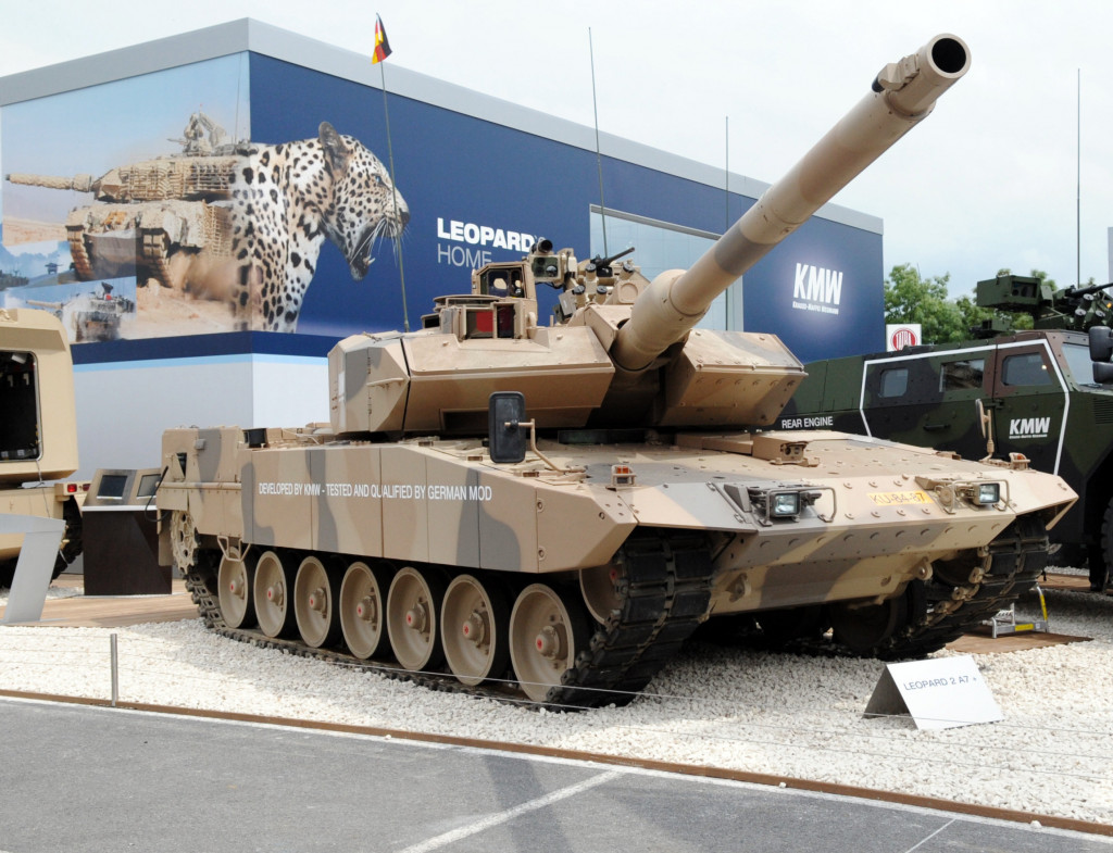 ISIS Destroyed Myth Of Germany's Indestructible Leopard 2 Tank