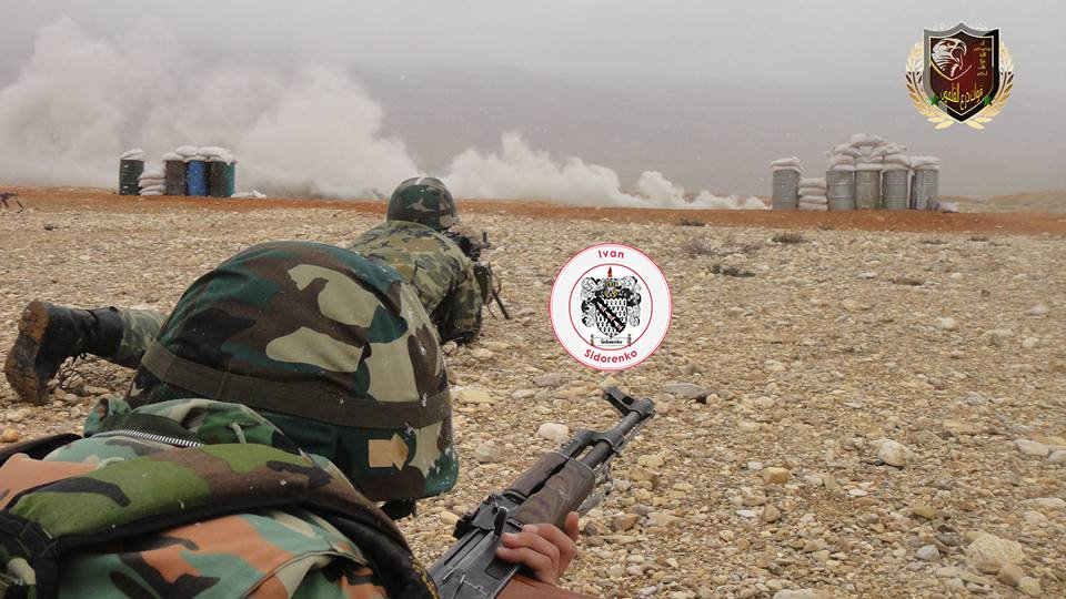 Qalamoun Shield Forces Training By Russian Military Advisers - Photo Report