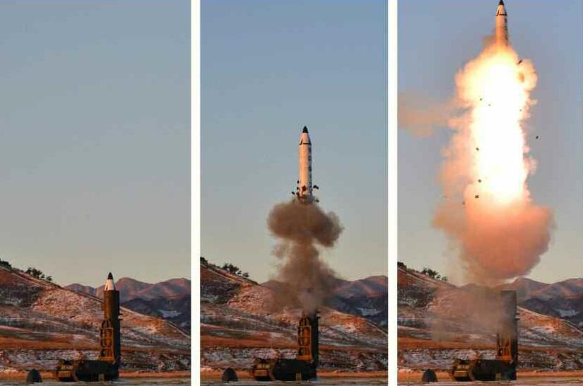 North Korea Tested Nuclear-Capable Medium Range Ballistic Missile - Photos, Videos
