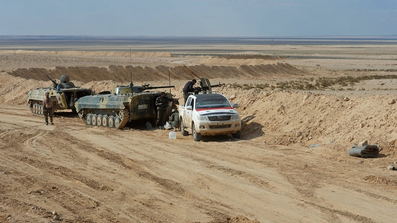 Syrian Army, Backed By Russian Aerosapce Forces, Pushing Towards Palmyra