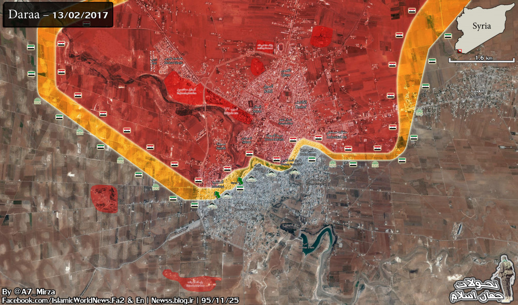 Clashes Ongoing In Daraa, Militants Make Some Gains In Manshiyah Neighborhood