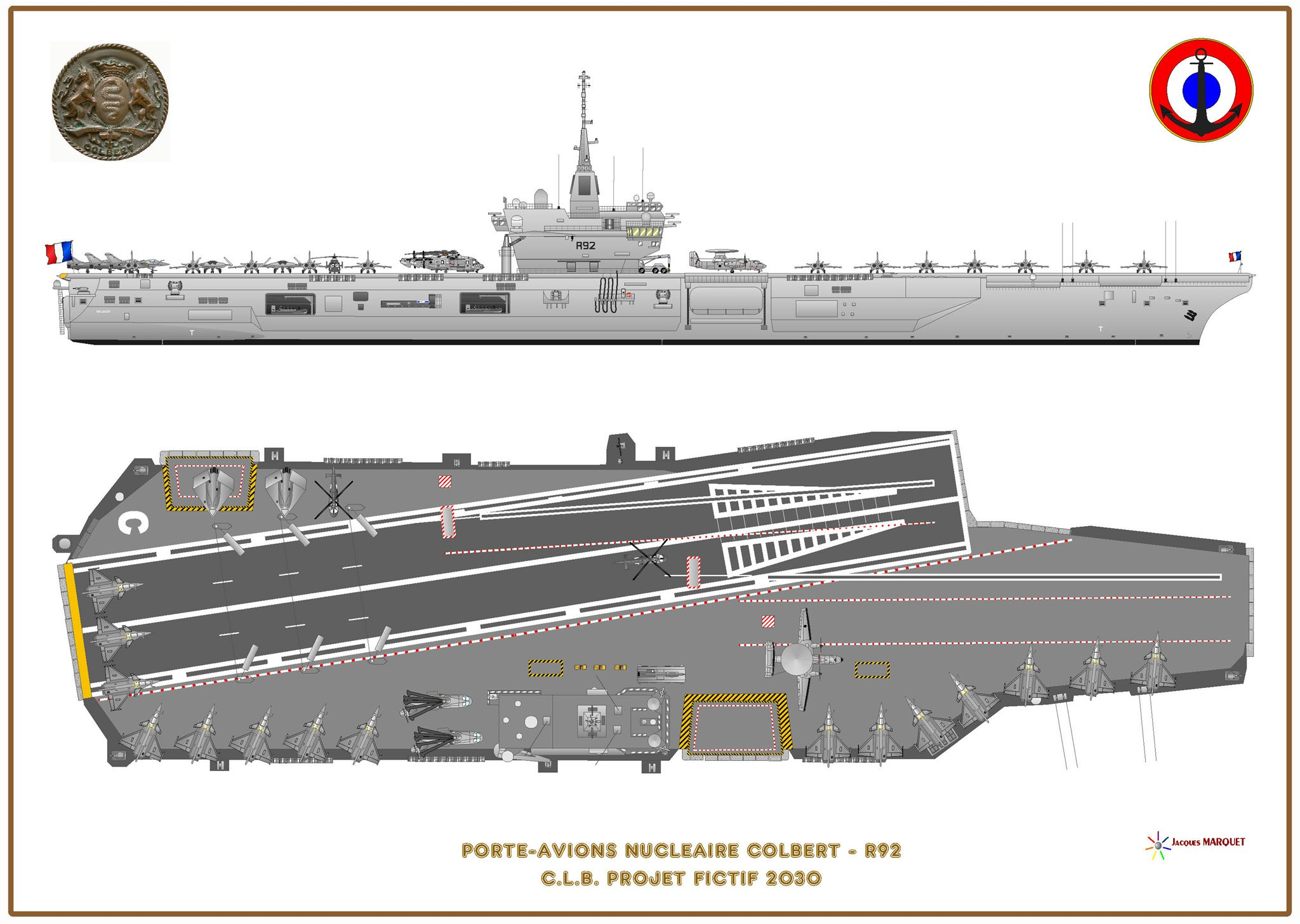 France meets with some difficulties in design of its new aircraft carrier - Porte avion francais en construction ...