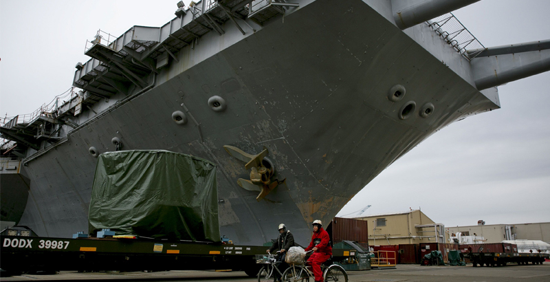 World's First Nuclear Aircraft Carrier Decommissioned in US