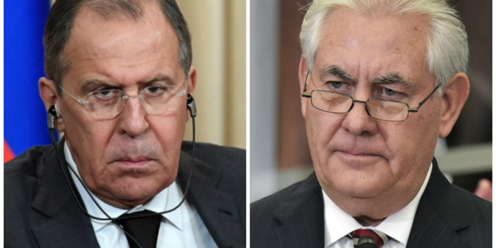 Lavrov And Tillerson Discuss Situation In Syria, Ukraine