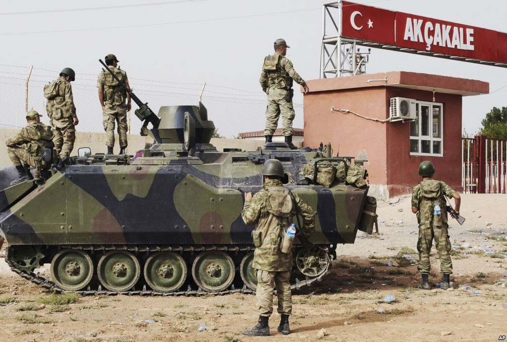 Turkey Suggested US-led Coalition Two Plans To 'Liberate' Syrian's Raqqa From ISIS