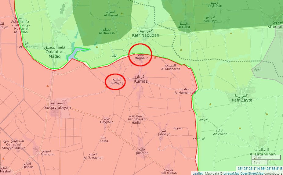 Ahrar al-Sham & Friends Launch Offensive Against Government Forces In Northwestern Hama