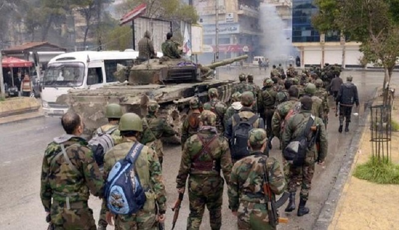Syrian Army Liberates Jund Al-Aqsa Area West Of Aleppo City - Reports