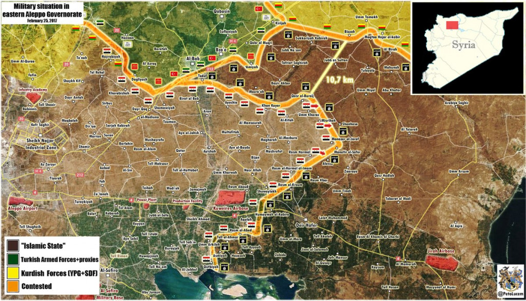 Syrian Army Further Advancing In Eastern Aleppo, Blocking Turkey And Its Proxies (Map Update)