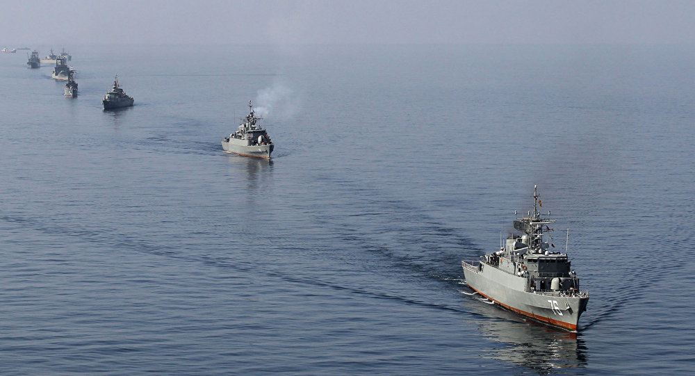 Iran Holds Major Naval Drill In 2 Million Square Kilometers Area