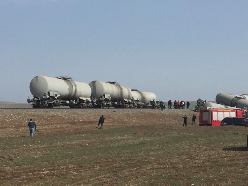 Kurdish Rebels Attack Freight Train In Turkey (Photos)
