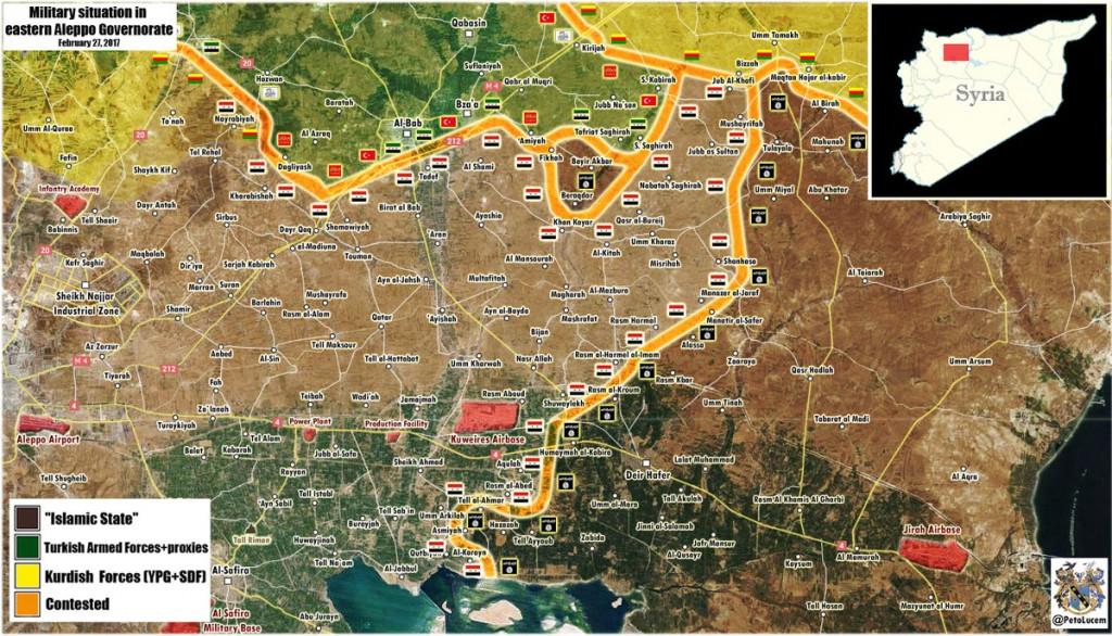 "Turkey Will End Operation In Syria After Manbij Cleared From ""PKK Terrorists"": : Erdogan's adviser"