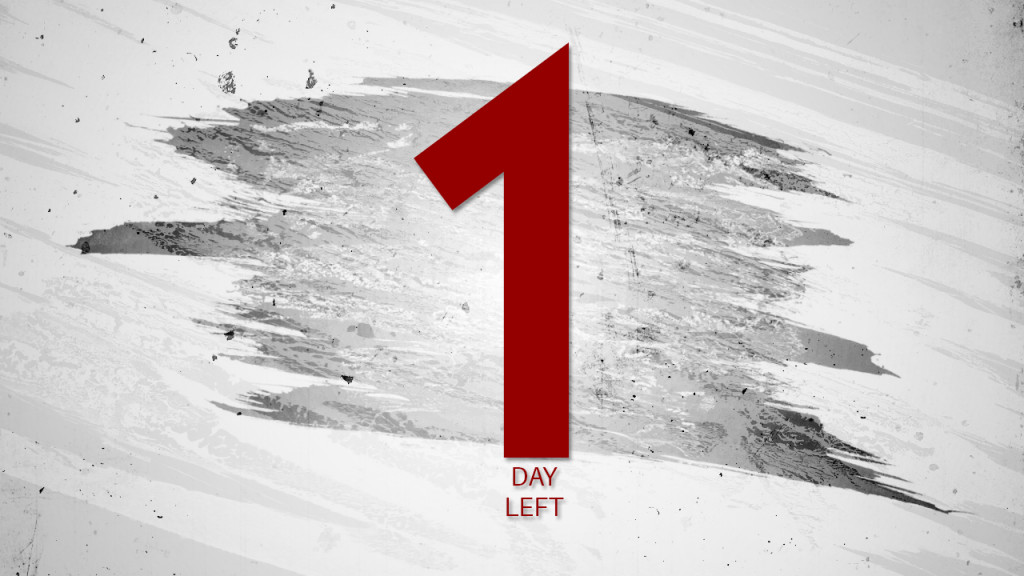 One Day Left Until End Of February