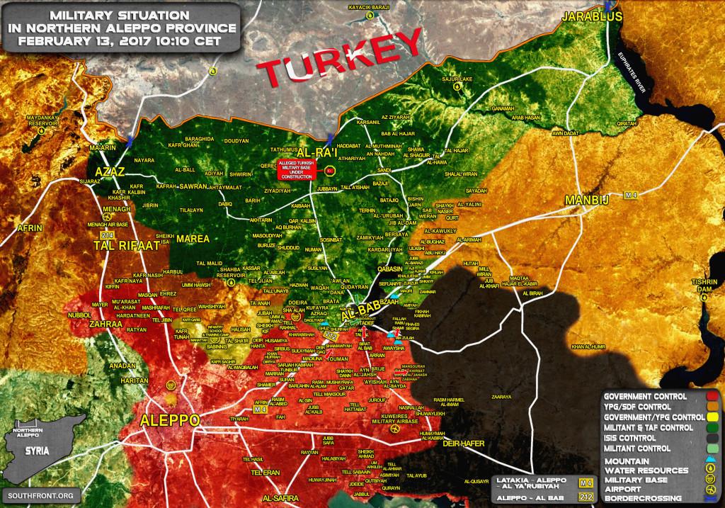 Syrian Army Gains More Ground In Eastern Aleppo, Erdogan Announces Advance On Raqqah After Al-Bab