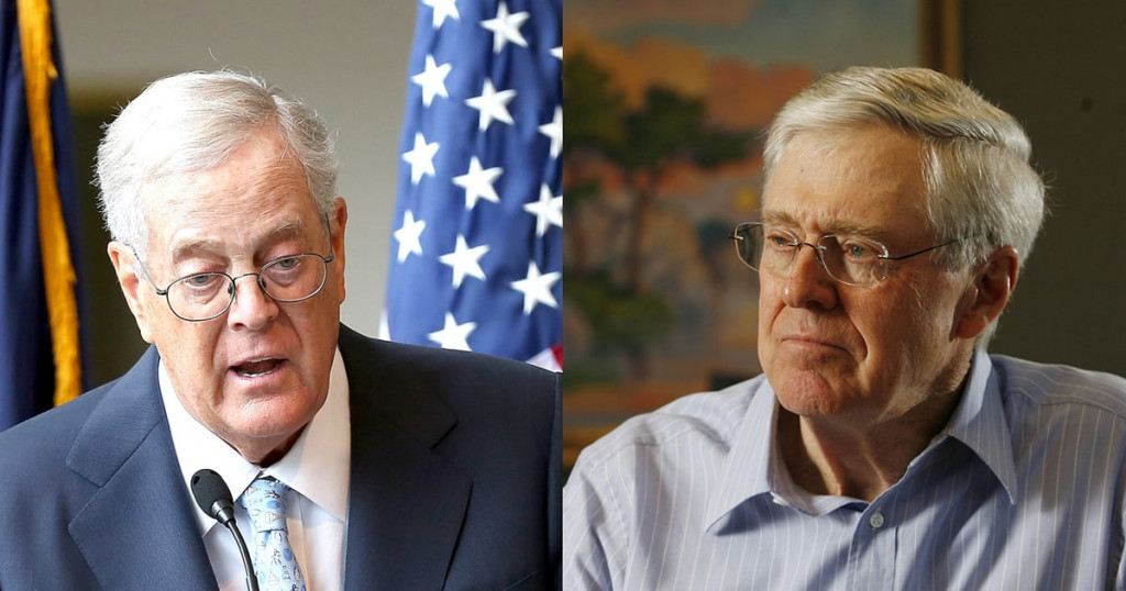 What Is Behind The Koch Brothers' Partnership With Donald Trump?