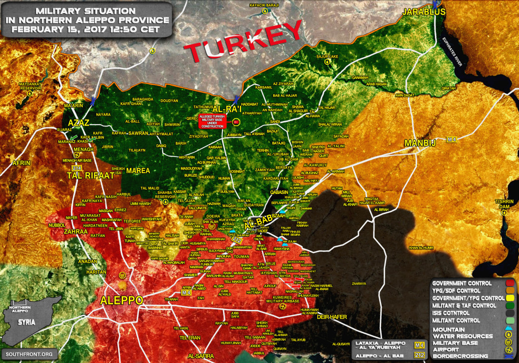 Tiger Forces Liberate Two More Villages From ISIS In Aleppo Province (Map)