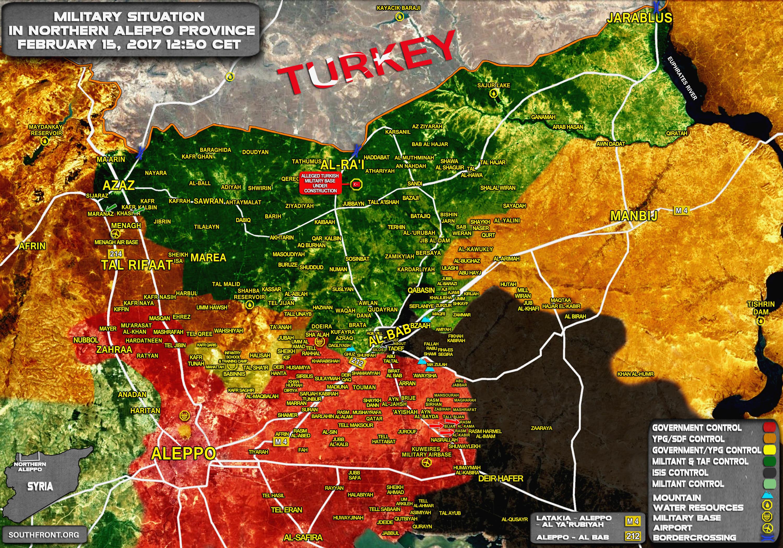 [BIZTPOL] Szíria és Irak - 3. - Page 37 15feb_12_50_northern-aleppo_Syria_War_Map