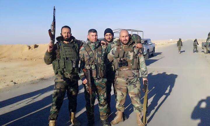 Syrian Army's Advance On Palmyra - Photo Report