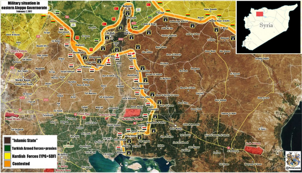 Govt Forces Liberate Two More Villages Near Al-Bab - Reports