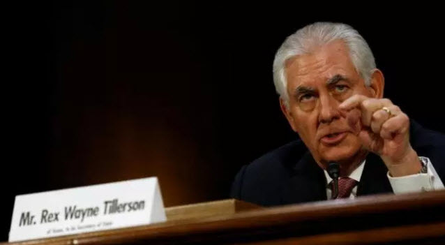 Alleged Pro-Al-Qaeda Spy Ring - Is This Why Rex Tillerson Cleaned State Department?