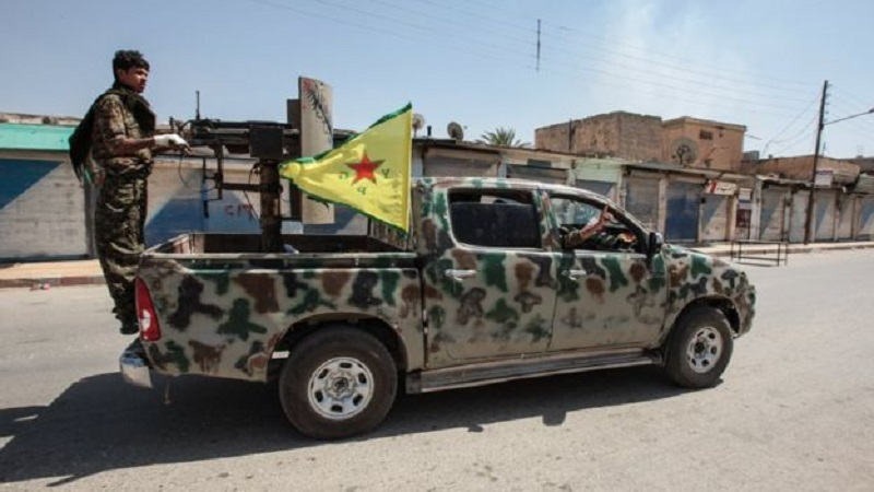 US-Backed 'Syrian Democratic Forces' Attack Pro-Turkish Militants In Northern Aleppo
