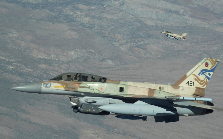 Israeli Air Force Bobmed Syrian Army Positions Near Damascus (Update)