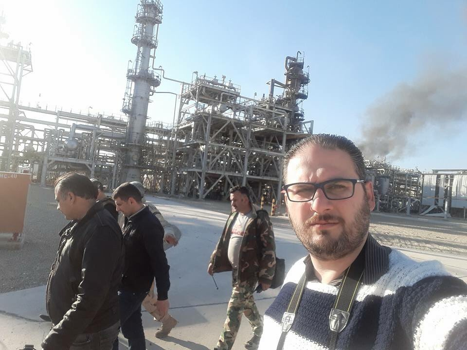 Fire Rages In Hayan Gas Facility Liberated From ISIS In Syria's Homs Province (Video, Photos)