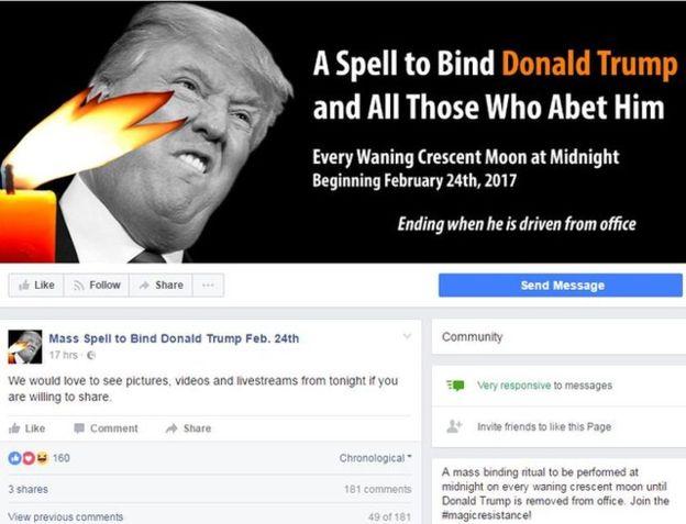 Obscurantism And Politics: Satanic Cults Declare War On Trump