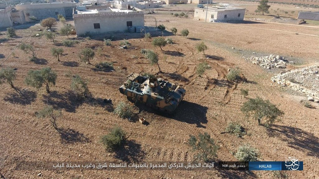 Overview of Battle For Al-Bab - February 3, 2017