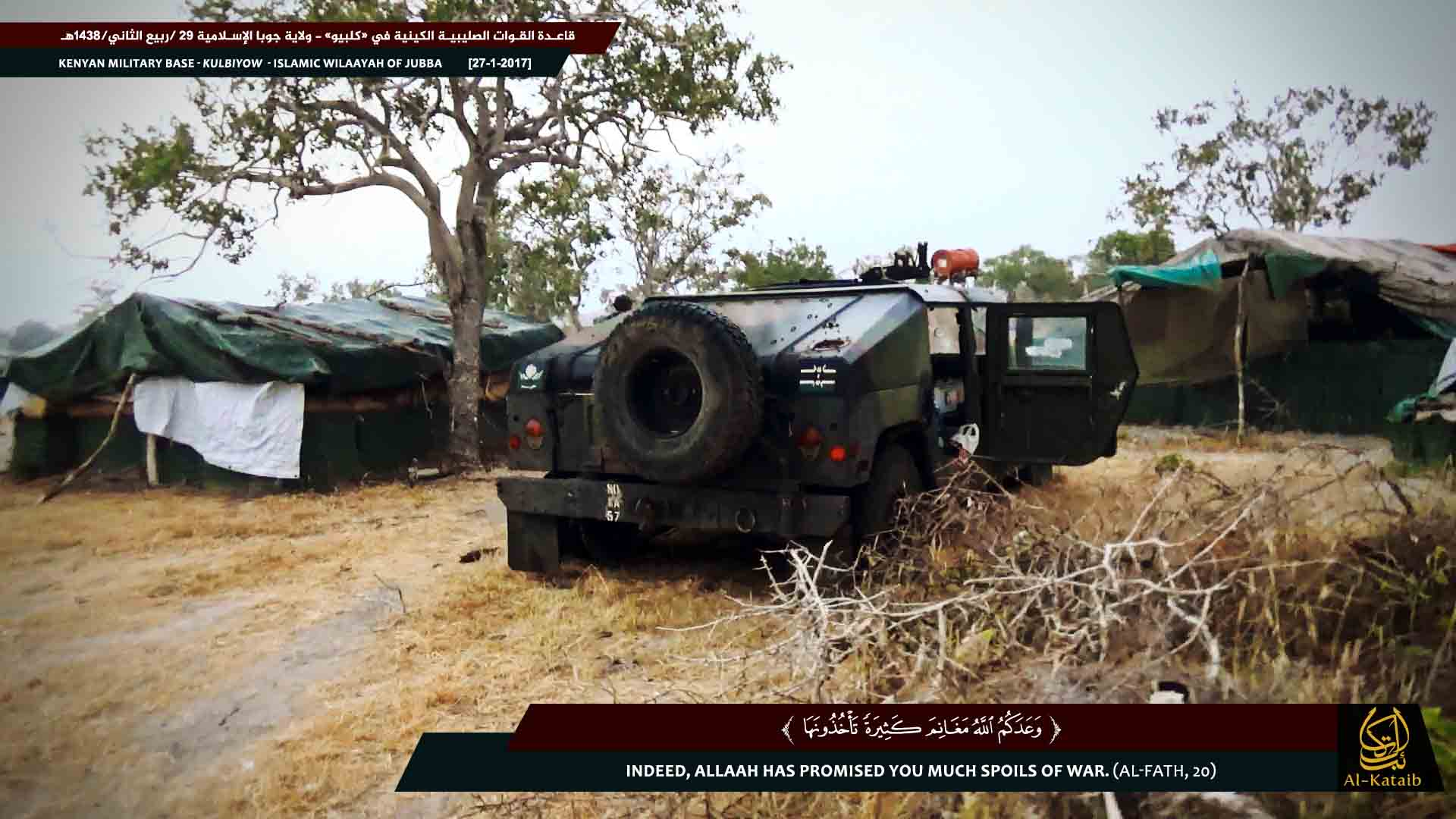 Al Shabaab Militants Capture Kenyan Military Camp in Somalia: 72 Kenyan Soldiers Killed (Photos)