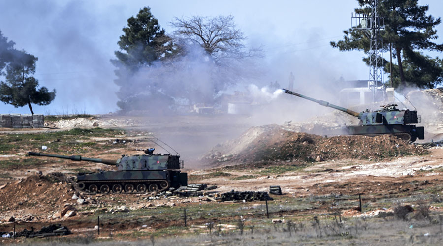 Reports: Turkish Artillery Targets Syrian Army Near Al-Bab. Clashes Between Army And Pro-Turkish Militants Ongoing