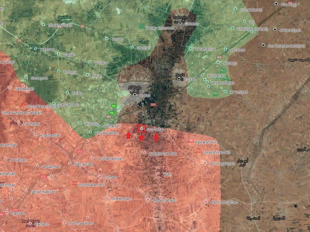 Syrian Army Is Storming Town Of Tadif In Just Few Kilometers From Al-Bab