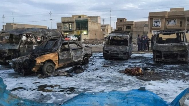 Car Bomb Kills 48 People In Iraqi Capital