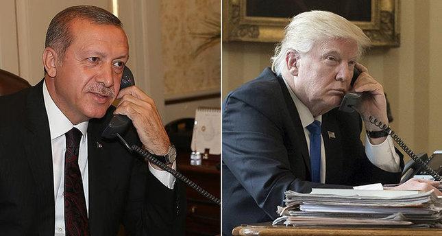 Erdogan, Trump Agree To Act Together On al-Bab, Raqqa In Syria - Reuters