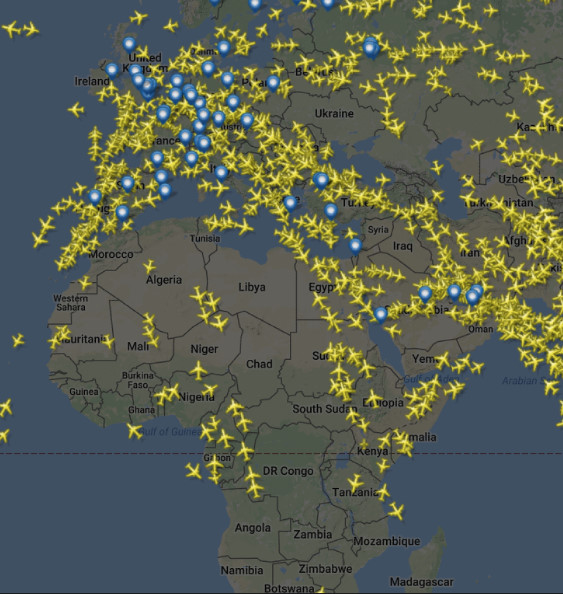 How International Airlines Act in Sky of Eastern Europe