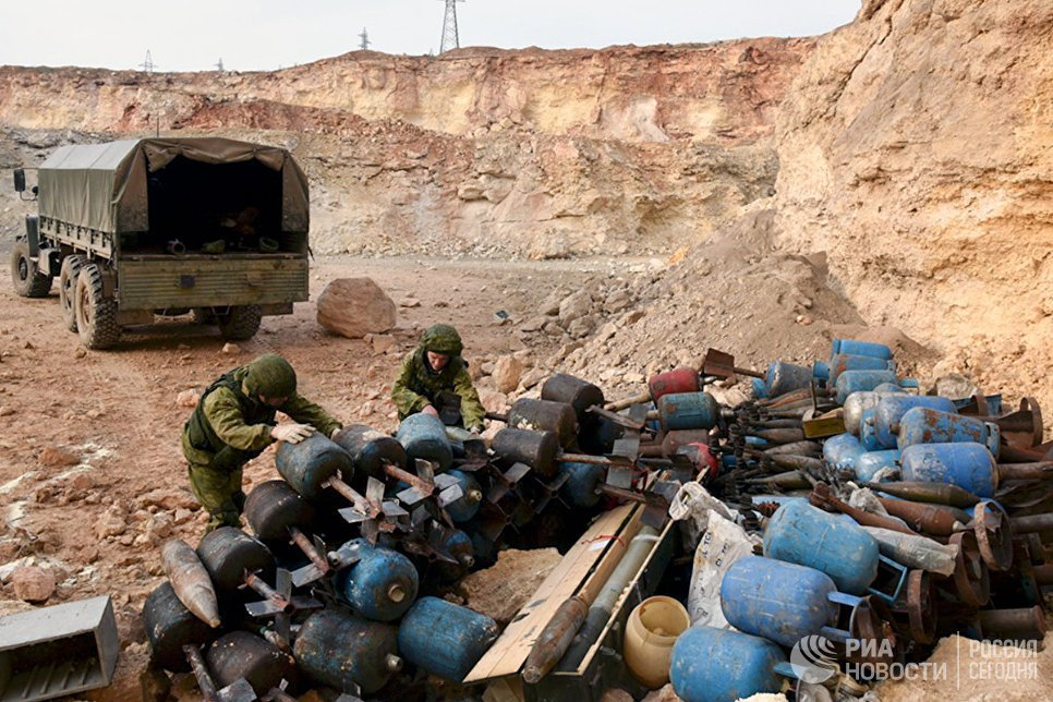Russian Troops, Military Equipment In Syria In January-February, 2017 - Big Photo Report