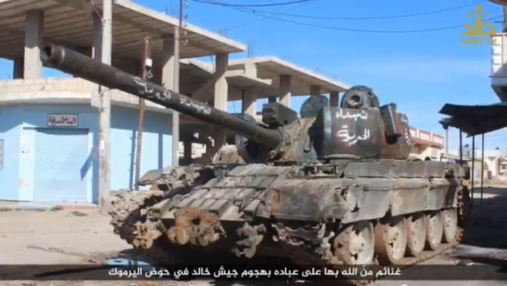 "ISIS Advances Against ""Moderate"" Militant Groups In Daraa"