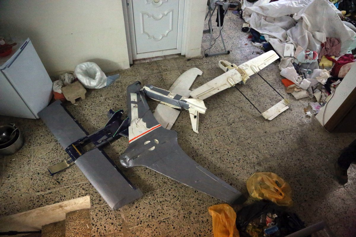Iraqi Army Admits Its Losses in Bombardments Carried Out by ISIS UAVs