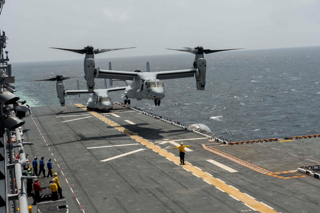 USS America Gets Ready For First Overseas Deployment