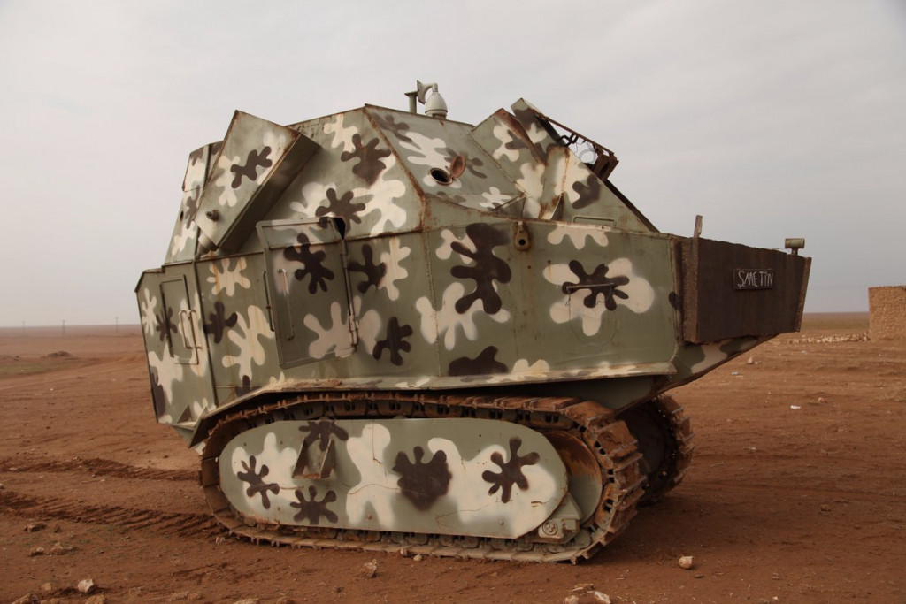 Interesting Self-Made Armored Vehicle Of US-Backed Kurdish Forces - Photos, Video