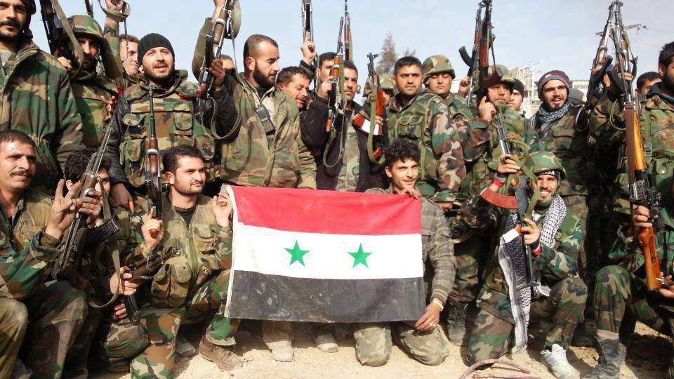 Syrian Government Forces Attack Militants West Of Aleppo City