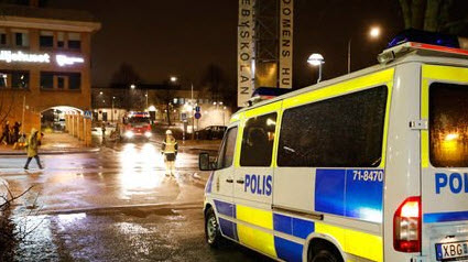Migrant Rioting Breaks Out In Sweden