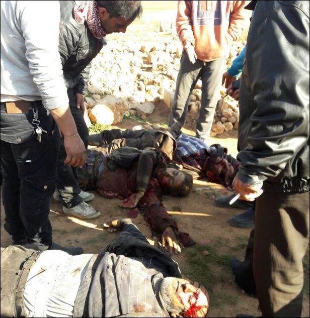 Over 40 Killed In ISIS Suicide Bombing In Western Al-Bab (Photos 18+)