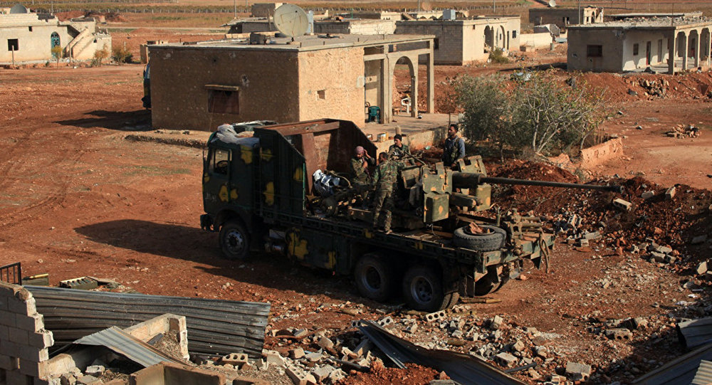 Government Troops Storming Gals Fields Near Palmyra (Photos)