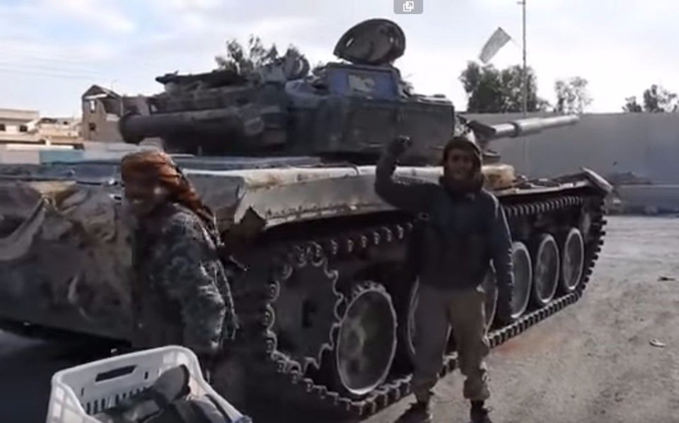 How ISIS Utilizes Battle Tanks In Syria And Iraq