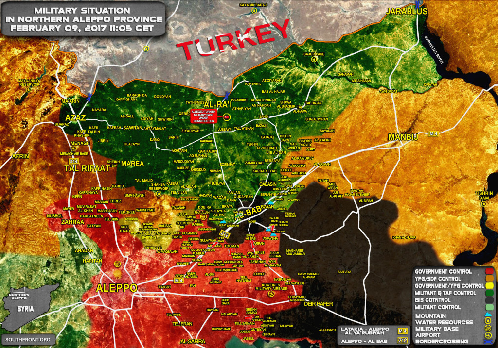 Syrian Army Liberates Another Village At Al-Bab-Aleppo Road (Map Update)