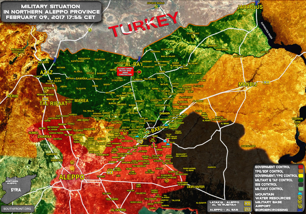 UPDATED - Turkish Forces Seize Qabasin and Bzaa, Syrian Army Reaches Tadef - Reports