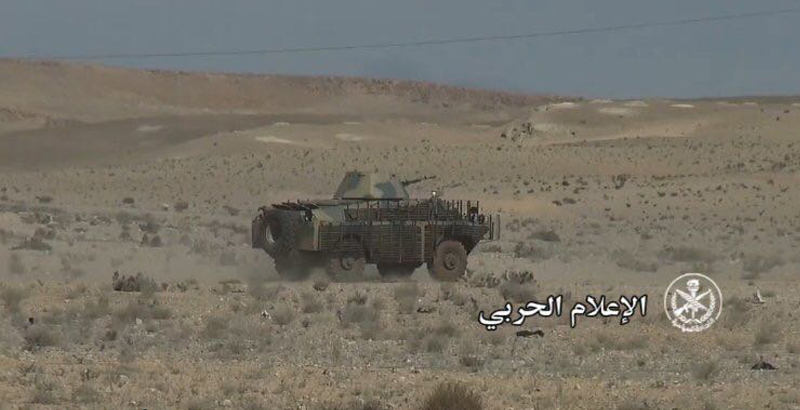 Syrian Army Uses BRDM-2 Reconnaissance Armored Vehicles (Photo)