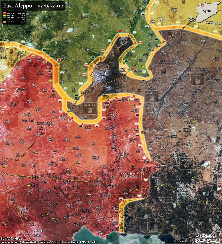 Turkish Forces Change Strategy Near Al-Bab