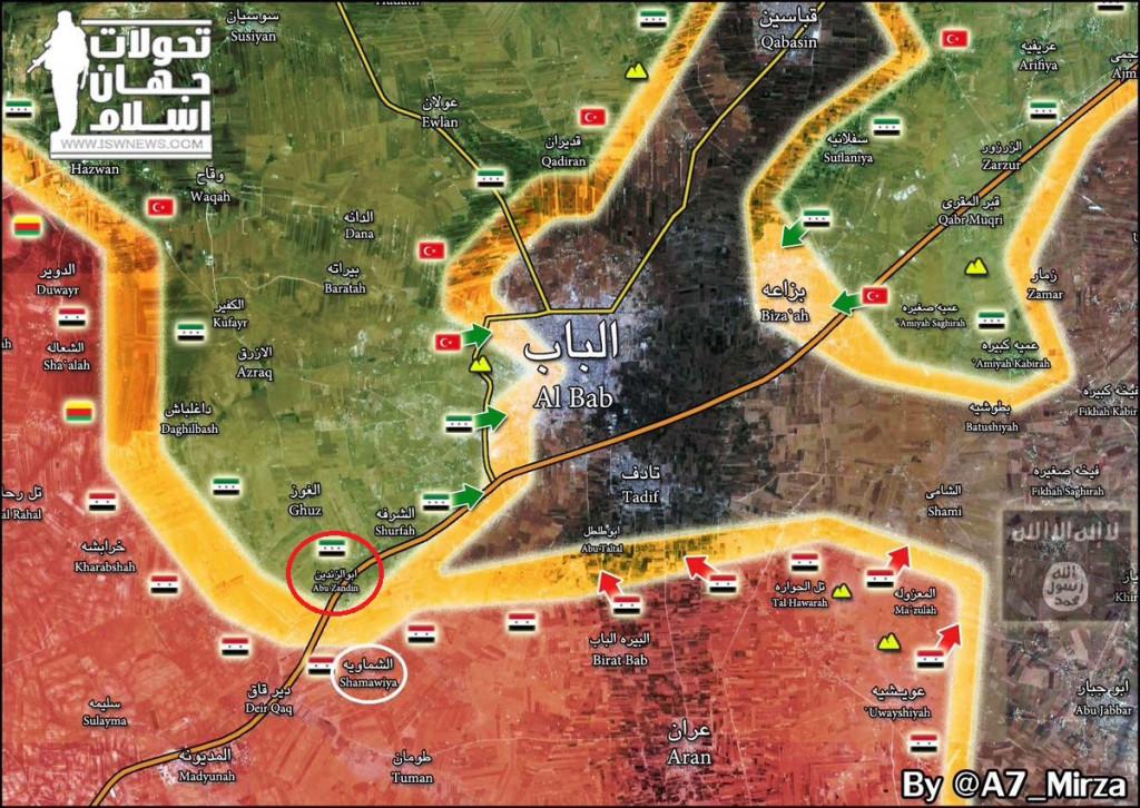 Syrian Army Troops Clash With Pro-Turkish Militants Near Al-Bab - Unconfirmed